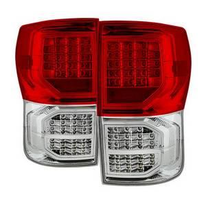 Toyota Tundra 07-13 LED s - Black Smoke Xtune ALT-ON-TTU07-LED-BSM Tail Light